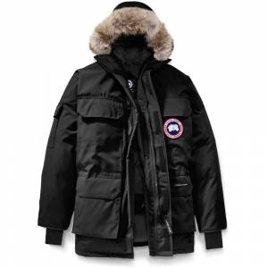 Canada Goose Expedition Parka RF - Black  - Size: Large