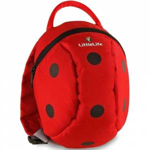 LittleLife Kids ActiveGrip Animal Backpack - Ladybird  - Size: ONE