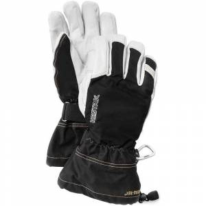 Hestra Army Leather Gore-Tex Glove - Black  - Black - Size: 8