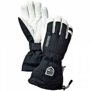 Hestra Army Leather Heli Ski Glove - Black  - Black - Size: 10