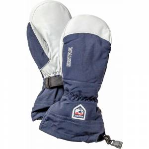 Hestra Army Leather Heli Ski Mitt - Navy  - Size: 9