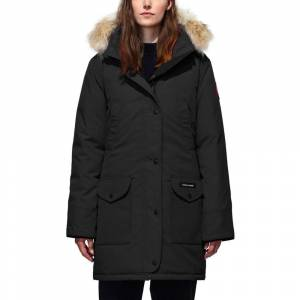 Canada Goose Women's Trillium Parka HD - Black  - Size: Large