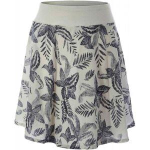 Royal Robbins Women's Cool Mesh Eco Skirt II - Cream Print  - Size: Large
