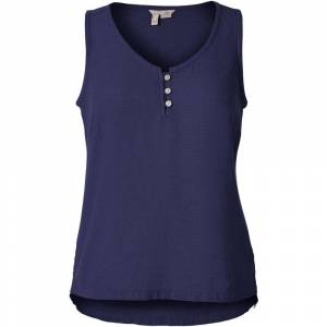 Royal Robbins Women's Cool Mesh Eco-Tank - Deep Blue  - DEEP BLUE - Size: 10