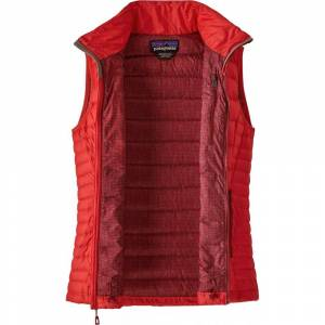 Patagonia Women's Down Sweater Vest - Catalan Coral  - CORAL - Size: Small