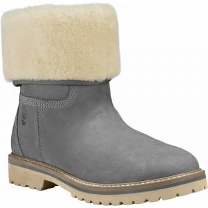 Timberland Women's Chamonix Valley Shearling - Medium Grey  - Size: 5
