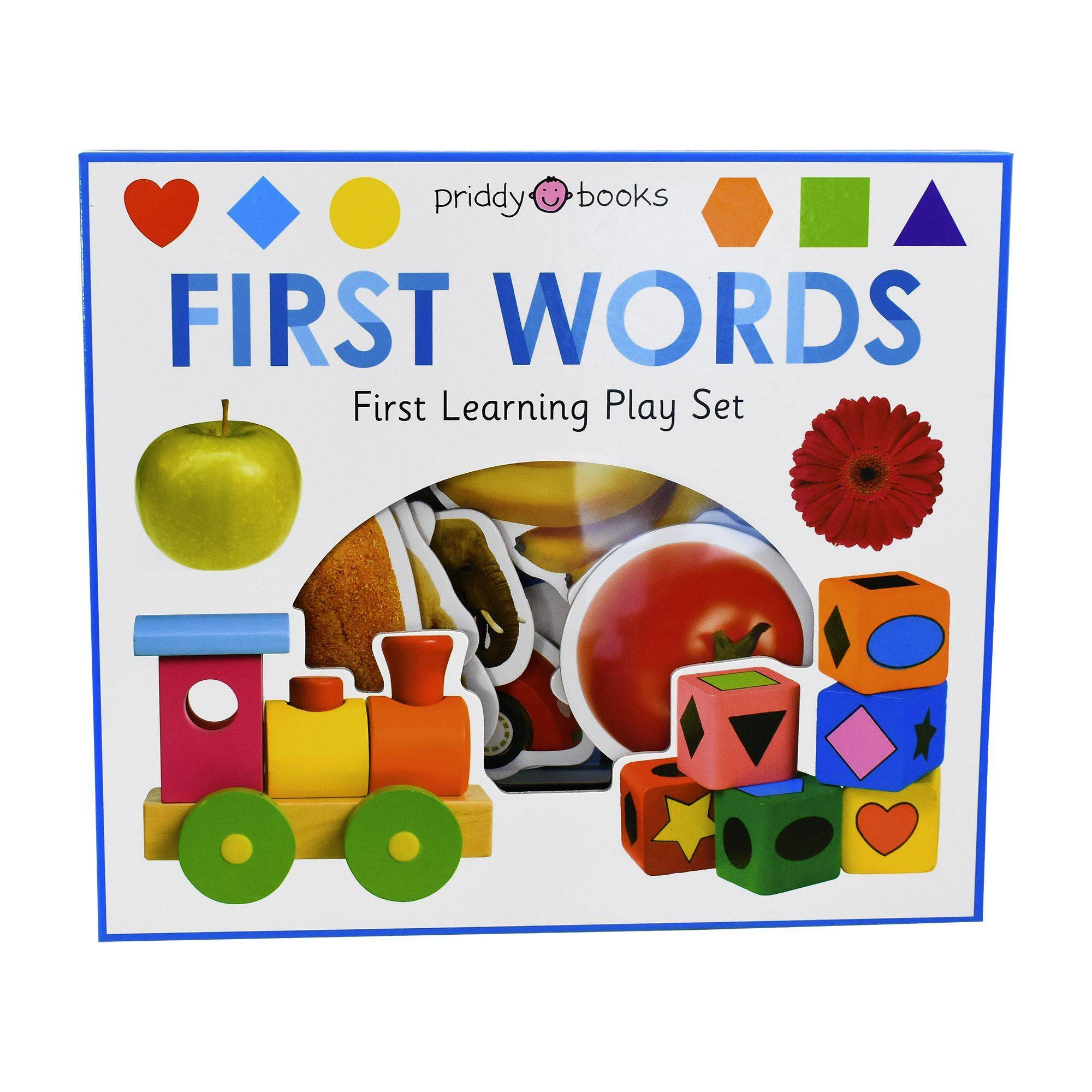Priddy Books First Words First Learning Play Set by Roger Priddy - Ages 0-5 - Board Book