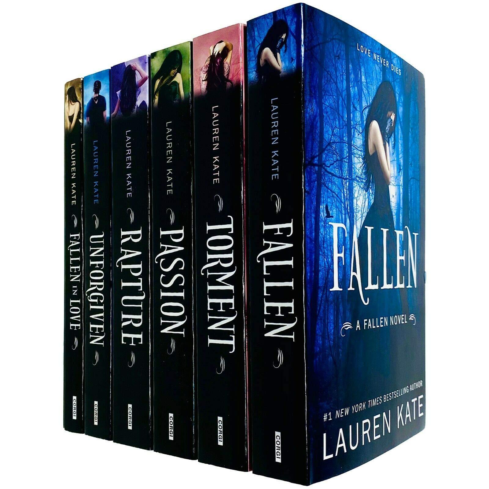 Corgi Books (Penguin Random House UK) Lauren Kate Fallen Series 6 Book Collection - Young Adult - Paperback - Lauren Kate