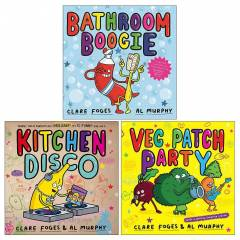 Faber & Faber Clare Foges Kitchen Disco Collection 3 Picture Books Set - Paperback - Age 0-5