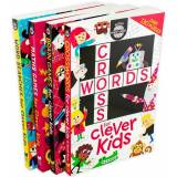Buster Books Buster Brain Games for Clever Kids 4 Book Collection - Ages 7-9 - Paperback - Gareth Moore