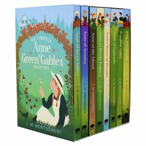 Arcturus Anne Of Green Gables 8 Books - Ages 9-14 - Paperback Box Set By L. M. Montgomery