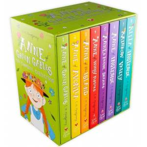 Sweet Cherry Publishing Anne of Green Gables The Complete 8 Book Collection - Ages 9-14 - Paperback - Lucy Maud Montgomery