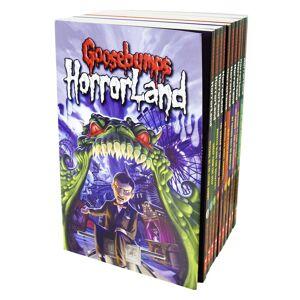 Scholastic Goosebumps Horror Land 10 Books Collection - Horror Fiction - Paperback - R. L. Stine