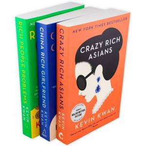 Penguin Crazy Rich Asians Trilogy Collection 3 Books - Young Adult - Paperback - Kevin Kwan