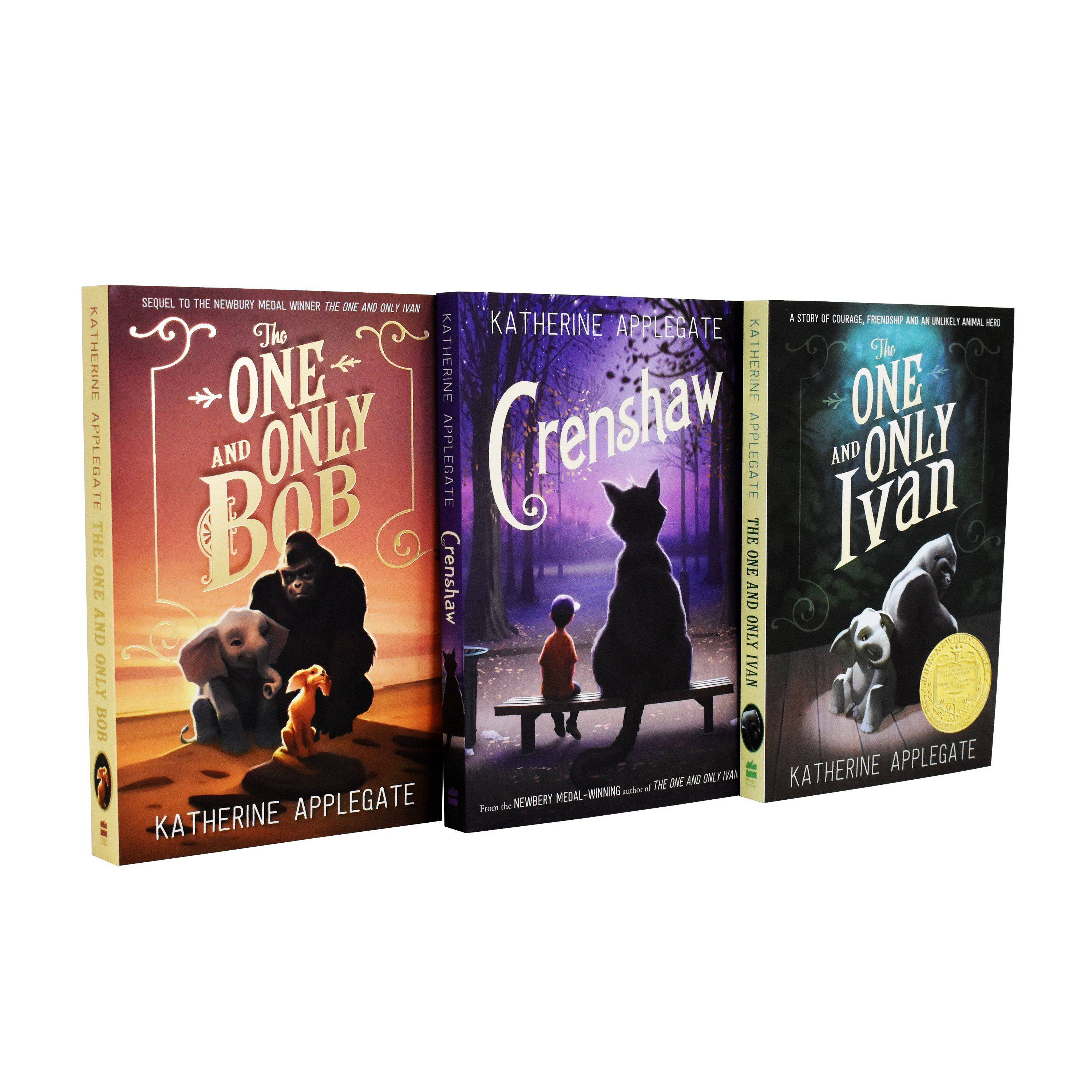 Harper Collins Katherine Applegate One and Only Ivan Series 3 Books Collection - Paperback - Age 7-9