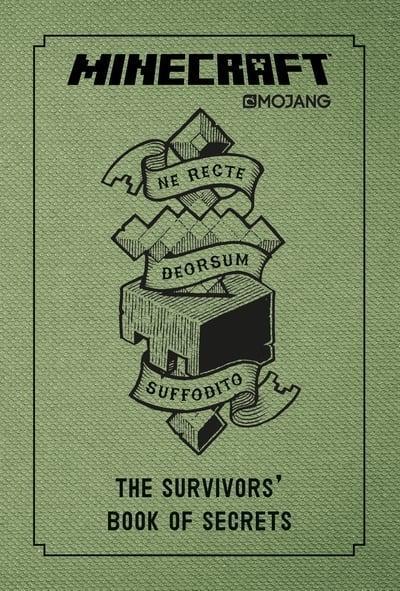 Egmont Minecraft The Survivors' Book of Secrets - Age 9+ - Hardback by Mojang