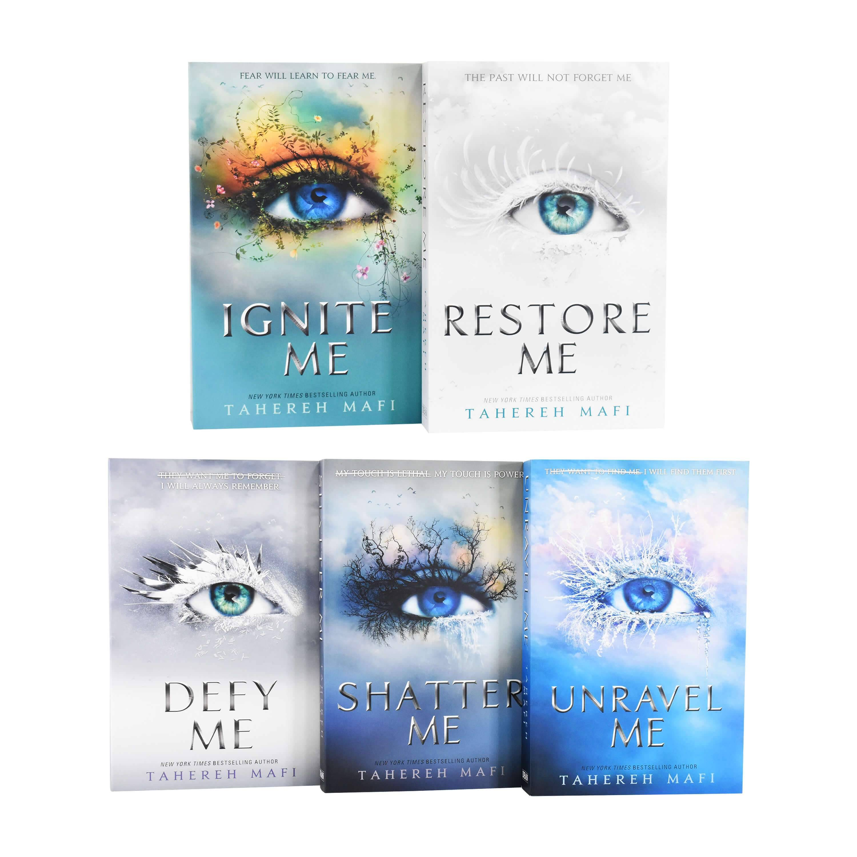 Dean Shatter Me Series Collection 5 Books Set By Tahereh Mafi - Young Adults - Paperback