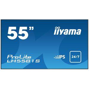 "iiyama LH5581S-B1 signage display 139.7 cm (55"") LED Full HD..."