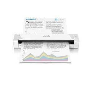 Brother DS-720D scanner 600 x 600 DPI Sheet-fed scanner White A4