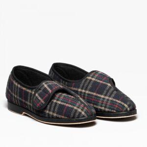 GBS BILL Mens Full Slippers Check: UK 10 Size: UK 10