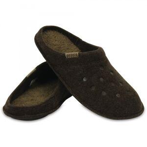 Crocs 203600 CLASSIC SLIPPER Unisex Mules Espresso/Walnut: UK M4/W5