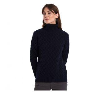 Barbour Burne Womens Knit Colour: Navy, Size: UK18 EU42 US14