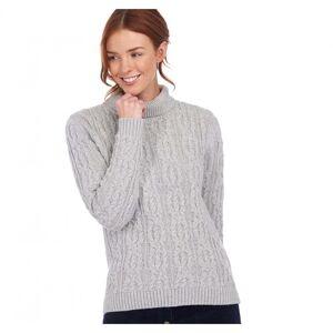 Barbour Burne Womens Knit Colour: Pale Gr, Size: UK18 EU42 US14