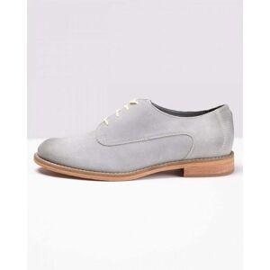 J Shoes Sylvia Natural Grey Womens Shoes Colour: Natural Grey, Size: U