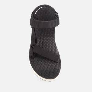 Teva Women's Universal Flatform Sandals - Black/Tan - UK 7