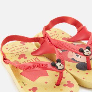 Havaianas Toddlers' Disney Classics II - Micky Flip Flops - Lemon Yellow - EU 25-26/UK 8-9 Toddler