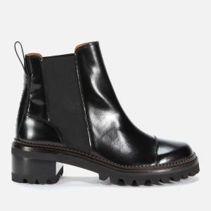See By Chloé Women's Leather Chelsea Boots - Black - UK 5