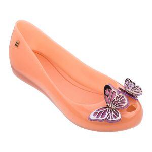 Melissa Women's Ultragirl Butterfly Ballet Flats - Soft Coral - UK 6