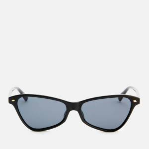 Le Specs Women's Situationship Sunglasses - Black Smoke