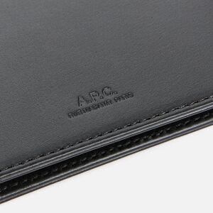 A.P.C. Men's Portefeuille Aly Wallet - Noir