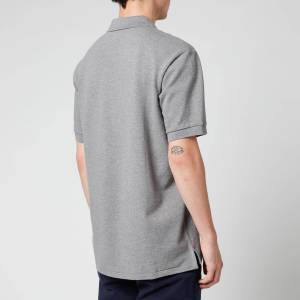 PS Paul Smith Men's Zebra Logo Regular Fit Polo Shirt - Grey Melange - M