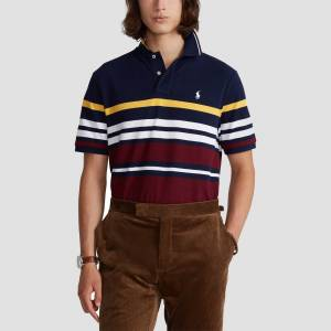 Ralph Lauren Polo Ralph Lauren Men's Short Sleeve Polo Shirt - Cruise Navy Multi - L