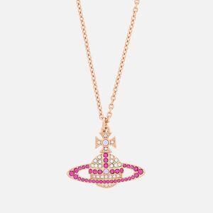 Vivienne Westwood Women's Kika Pendant - Pink Gold Crystal Fuchsia Violet