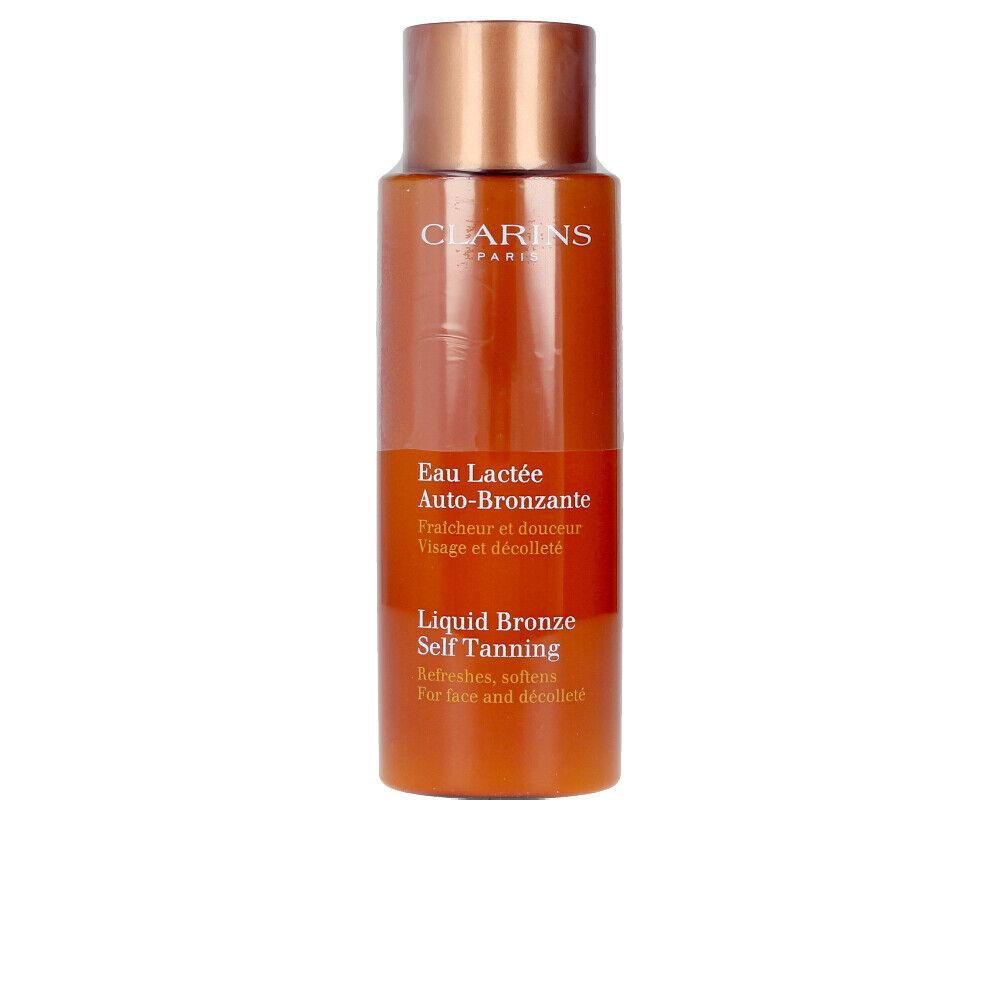 Clarins SOLAIRE eau lactée autobronzante visage & décolleté  125 ml