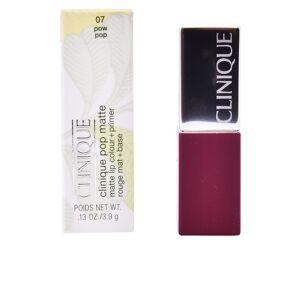 Clinique POP matte lip color + primer  #07-pow pop 3.5 g