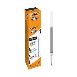 BIC Gel-ocity Illusion Pen Refill 0.3 mm Black 12 Pieces  - Black