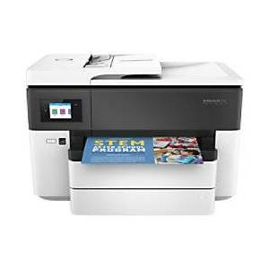 HP Officejet Pro 7730 A3 Colour Inkjet 4-in-1 Printer with Wireless Printing  - Black/ White