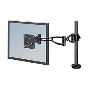 Fellowes Single Monitor Arm Professional Series Height Adjustable 32 Black  - Black