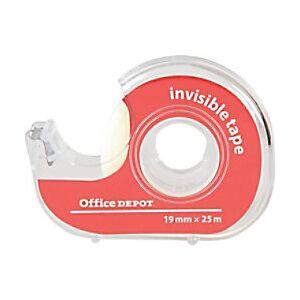 Office Depot Tape Invisible Office Tape Transparent 1.9 x 5.2 x 5.2 cm  - Transparent