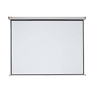 Nobo Wall Mounted Projection Screen 1902393 200 x 151.3 cm  - White - Size: