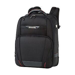Samsonite Laptop Backpack PRO-DLX 5 15.6 Inch Nylon, Leather Black 32 x 44.5 x 23 cm  - Black