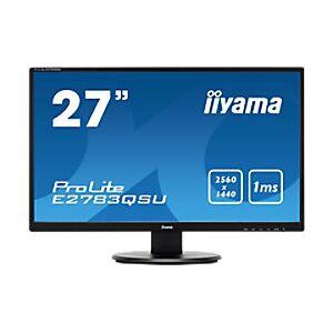 IIYAMA 27 inch Monitor LED Backlit E2783QSU-B1  - Matt Black