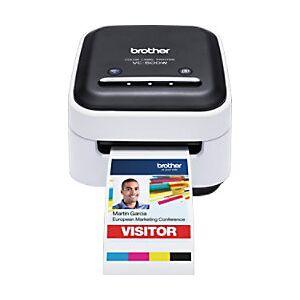 Brother Zero Ink Colour Label Printer Wi-Fi VC-500W