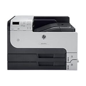 HP LaserJet M712DN Mono Laser Multifunction Printer A3  - Black/ Grey