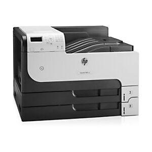 HP LaserJet M712XH Mono Laser Printer A3  - Black/ Grey