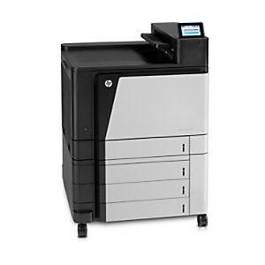 HP LaserJet M855xh Colour Laser Printer A3  - Black/ Grey